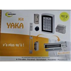 Kit contrôle d'accès SEWOSY yaka avec gâche à rupture de courant  12 V NEUF