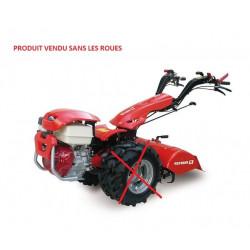 Motoculteur + fraise 80 cm - Motech REFORM CM747-  Moteur Honda essence 4...