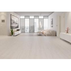 Paquet de parquet de 2,39m² sol stratifié 7mm couleur chêne blanc  SWISS...