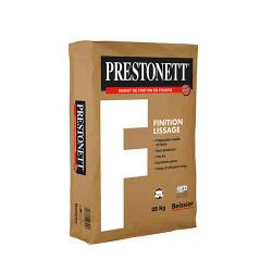 Sac de 25 Kg BEISSIER Prestonett d'enduit d'intérieur de finition lissage en...