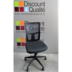 Chaise - Siège de bureau noir Modèle Katz  réglable en hauteur NEUF