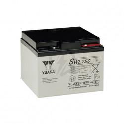 Batterie au plomb étanche YUASA 12v 22.9ah SWL750 NEUVE