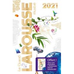 Livre - Dictionnaire Grand Larousse Illustré 2021 NEUF