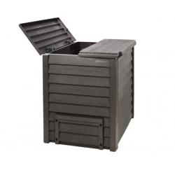 Bac à compost -  Composteur à déchets 600 L GARANTIA GARDEN Thermo - Wood en...