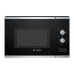 Four Micro - ondes  intégrable BOSCH 60 cm 25 L 900 W  en inox BFL550MS0 NEUF