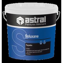 Pot de 15 L de peinture bâtiment ASTRAL Soluxane pour façade  Blanc Mat  NEUF