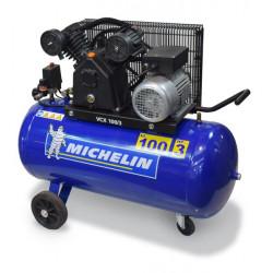 Compresseur 100 L MICHELIN  3 CV Bicylindre VCX100/3 Monophasé NEUF déclassé