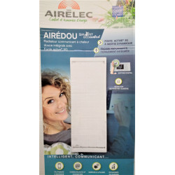 Radiateur électrique à inertie 2000 W AIRELEC Airedou Smart Eco Control...