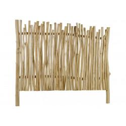 Tête de lit bois 160 x H140 cm en teck naturel  ATHEZZA - HANJEL Arly  HAN...