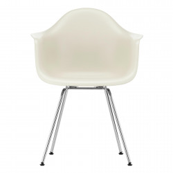 Lot de 2 chaises avec accoudoirs VITRA Eames Plastic Armchair Dax couleur...