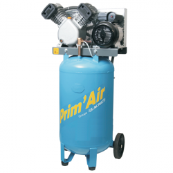 Compresseur air  Vertical 100 L bicylindre LACME Prim'Air VVM21/100 3 CV 21...