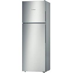 Réfrigérateur-congélateur 300 L BOSCH 2 portes pose libre couleur inox...