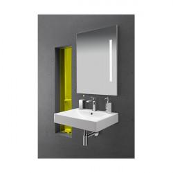 Miroir leds CRISTINA ONDYNA 80-60 cm avec Bluetooth - ML8060BT - NEUF