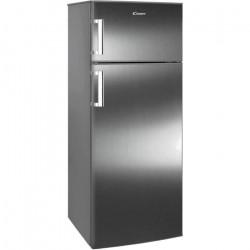 Réfrigérateur congélateur A+ CANDY 231 litres CCDS6172FXH NEUF déclassé