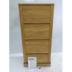 Meuble Haut  - Colonne 4 tiroirs en chêne DEKORT Orlando H150 X l69 cm x P42...