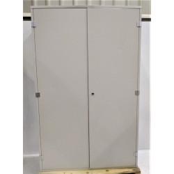 Armoire électrique 2 portes H195 x L123 x P50 cm NEUVE déclassée sans serrure