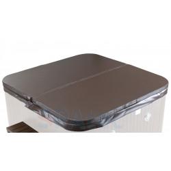 Couverture pour spa SPATEC 700B 200x200cm couleur chocolat - Neuve déclassée