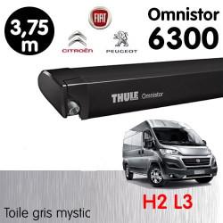 Store 3.75 m THULE Omnistor 6300  pour fourgon H2L3 302431 NEUF déclassé