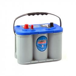 Batterie plomb 12V 55AH AGM OPTIMA BlueTop 765A BTDC 4.2 - NEUVE