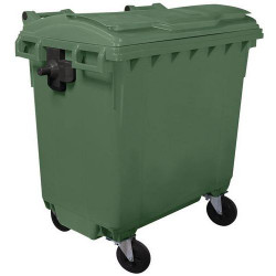 Conteneur à déchets vert 770 Litres A264358 NEUF