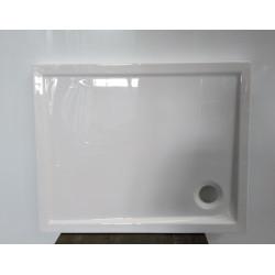 Receveur de douche hybride LEDA 80X100 cm - Blanc - NEUF DECLASSE