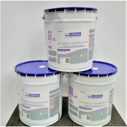 Lot de 3 pots de 15 Litres peinture extérieur CORONA BATIMENT Revimpex...