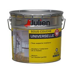 Pot de 12 Litres de sous couche universelle avant peinture JULIEN Blanc Mat...