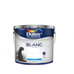 2 pots de10 Litres de peinture DULUX VALENTINE Blanc Mat pour mur et plafond...