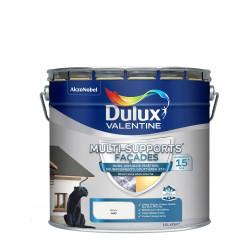 Lot de 2 pots de peinture de 10 L multi - supports façade DULUX VALENTINE...