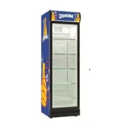 Vitrine réfrigérée à boisson 1 porte 402 Litres ORANGINA 3748351 NEUVE déclassée