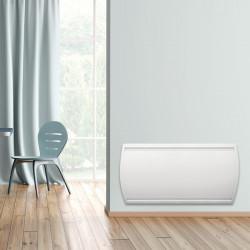 Radiateur électrique à inertie sèche 2000 W CONCORDE Idao horizontal Digital...