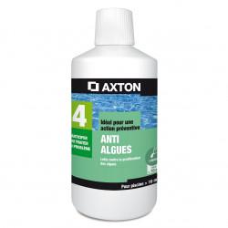Bidon de 1 Litre AXTON anti-algues pour piscine inférieur à 10m³ - 2151371 -...