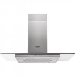 Hotte décorative 90cm Hotpoint - HIF9.7FABX - Inox - NEUVE Déclassée