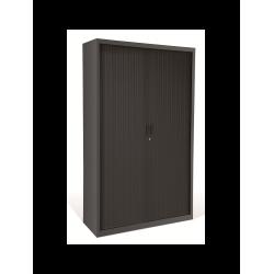 Armoire haute bureau HARMONY à rideaux H197 x L102 x P45 cm avec 4 tablettes...