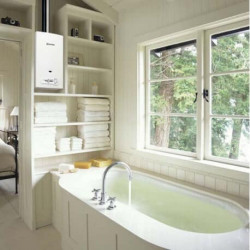 Chauffe-eau / chauffe bain ELM LEBLANC Ondea lc14pv Butane Protane -...