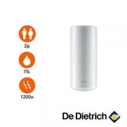 Chauffe-eau électrique blindé monophasé vertical mural 75 L DE DIETRICH - 89789641 - NEUF Déclassé