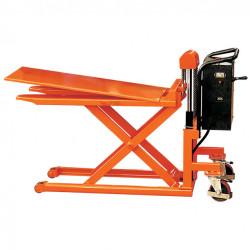 Transpalette électrique haute levée STOCKMAN force 1000 kg grande stabilité...