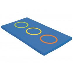 Tapis de gym  - Tapis de réception souple WESCO Les 3 cercles  200 X 120 x 10...