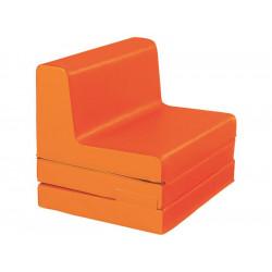 Fauteuil - Chauffeuse enfant convertible Orange WESCO  - NEUF
