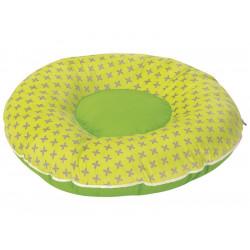 Coussin de sol enfant déhoussable WESCO Nid douillet Diamètre 65 cm en tissu...