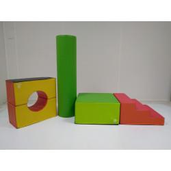 Lot de 5 blocs module de motricité WESCO pour enfant - NEUF déclassé
