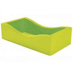 Contour de matelas vert  WESCO Cocon 114 x 64 x 30 cm  sans matelas NEUF