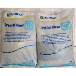 Lot de 2 sacs de 15 kg de média filtrant - cristaux de verre pour filtration...