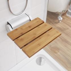 Siège de douche en bois de bambou rabattable HUDSON REED UFG - 501-G NEUF