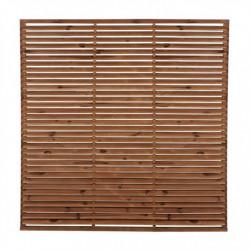 Lot de 3 claustras persienne 180 x 180 cm FOREST STYLE NEUFS déclassés