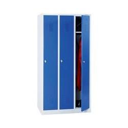 Armoire - Vestiaire industrie propre 3 colonnes sur socle H180 x L120 cm NEUF...