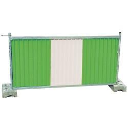 A030801 - Palissades clôtures de chantier