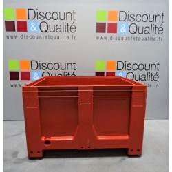 Caisse palette 610 L 1200x1000x760mm SCHOELLER ALLIBERT Maxilog NEUVE