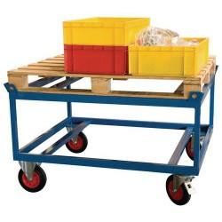 Rouleur haut pour charge lourde 500kg pour palette 120x80 cm FIMM A287639...