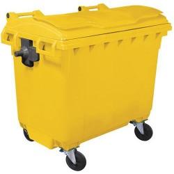 Conteneur à déchets 660 litres 4 roues A264357 NEUF